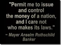 Rothschild banking quote