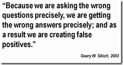 Geary Sikich quote