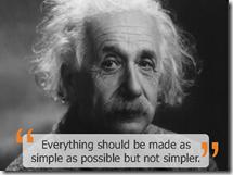 Einstein simplez
